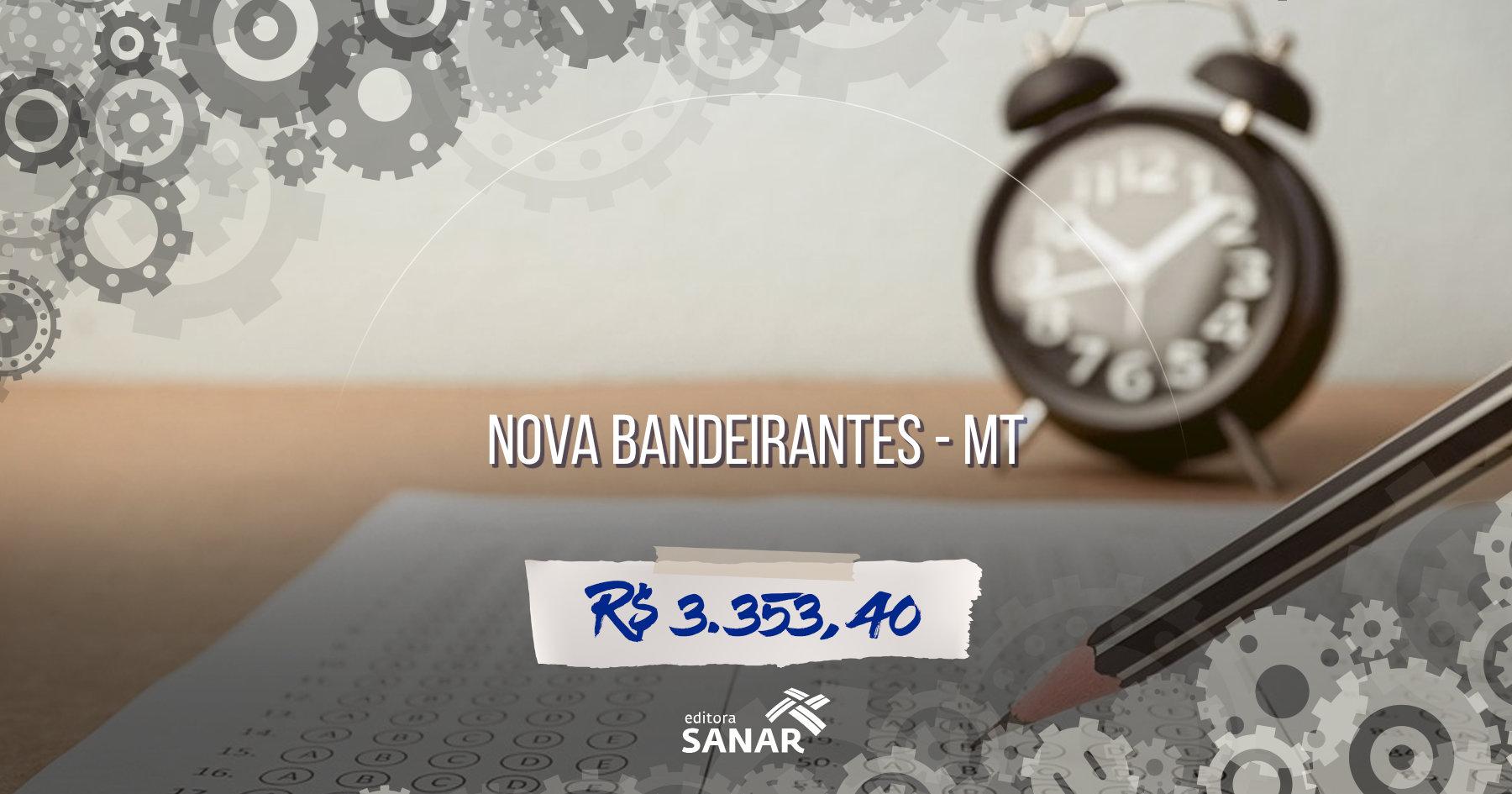 Prefeitura de Nova Bandeirantes (MT) seleciona profissionais de Odontologia, Farmácia e Enfermagem