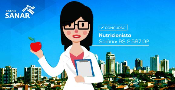 Concurso aberto para Nutricionistas no Departamento Regional de Saúde de Marília