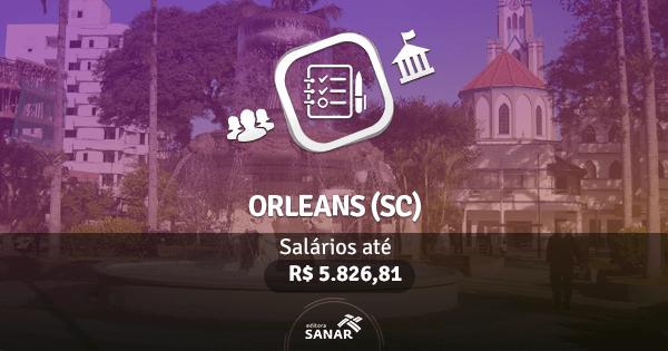 Prefeitura de Orleans (SC): edital publicado com vagas para Enfermeiros, Médicos e Dentistas