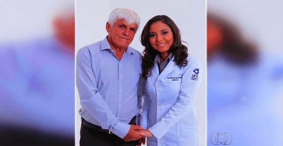 Pai do ano: Gari que criou filha sozinho a forma em medicina