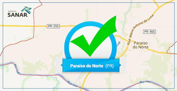 Prefeitura de Paraíso do Norte (PR) abre concurso para Médicos, Enfermeiros e Dentistas