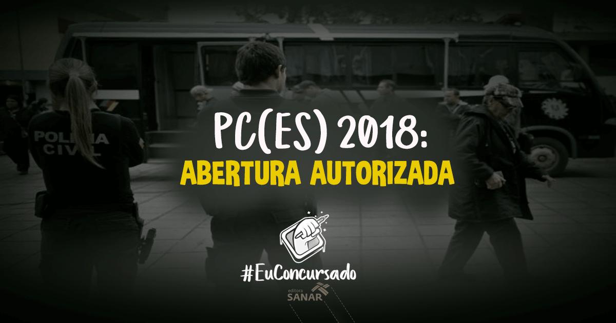 Concurso PC-ES: 173 vagas e remunerações de até R$ 4,8 mil para áreas da saúde