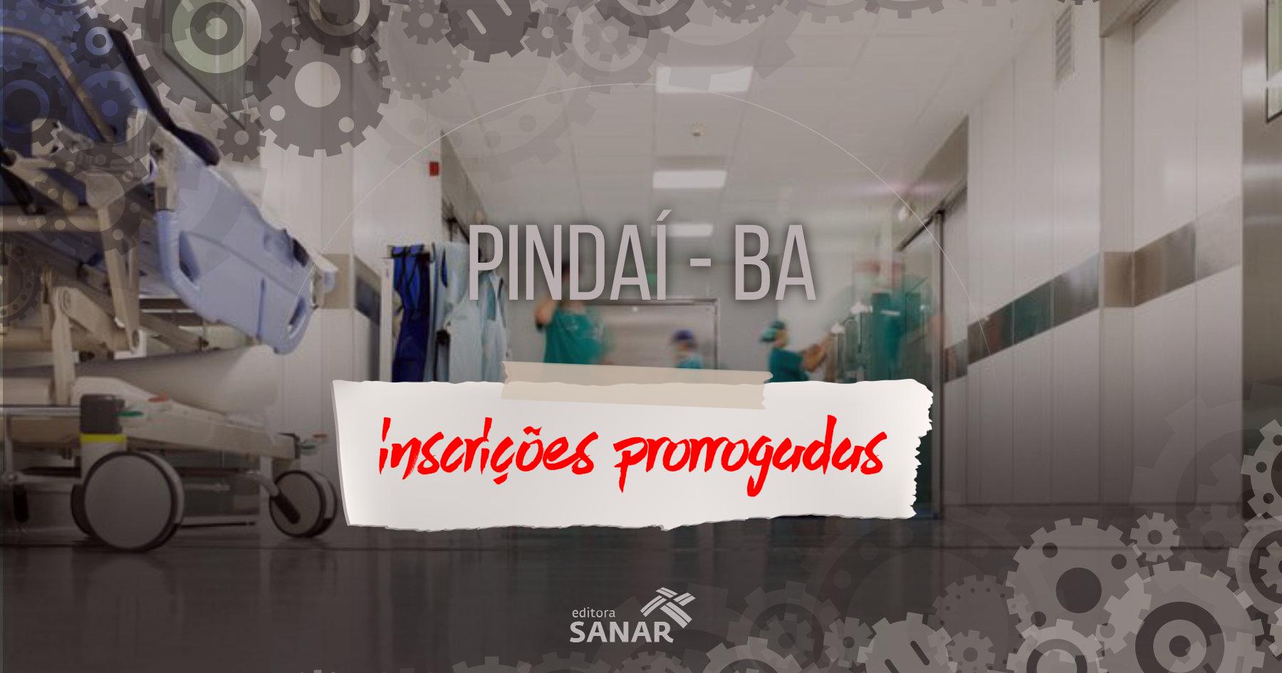 Concurso: Pindaí (BA) inscreve até 25/07