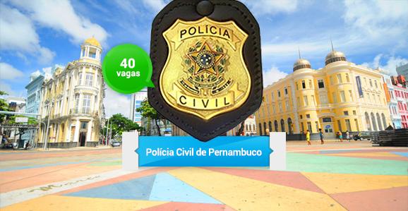 Definida a banca organizadora do concurso público da Polícia Civil de Pernambuco