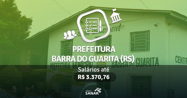 Prefeitura de Barra do Guarita (RS) publica edital com vagas para Enfermeiro, Nutricionista, Veterinário e mais