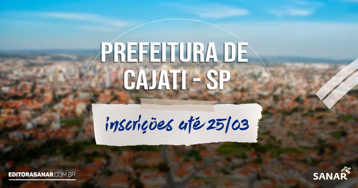 Concurso Prefeitura de Cajati - SP: salário de até R$19,7 mil na área da Saúde