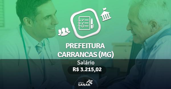 Prefeitura de Carrancas (MG) publica edital com vagas para Dentistas