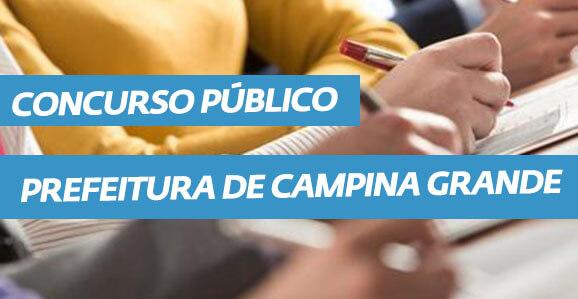 Concurso Público Prefeitura Municipal de Campina Grande - Paraíba