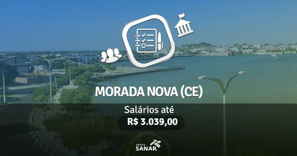 Prefeitura de Morada Nova (CE): processo seletivo com vagas para Enfermeiros, Dentistas e Médicos Veterinários