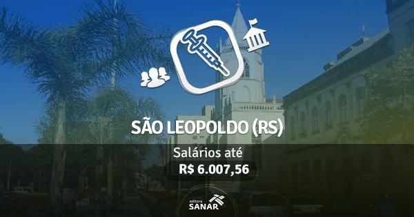 Prefeitura de São Leopoldo (RS): edital publicado com vaga para profissional de Enfermagem