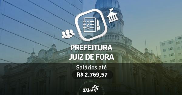 Prefeitura de Juiz de Fora abre concurso para Farmacêuticos, Fisioterapeutas e Veterinários