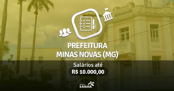 Prefeitura de Minas Novas (MG) publica edital com vagas para Médicos, Enfermeiros, Dentistas e mais