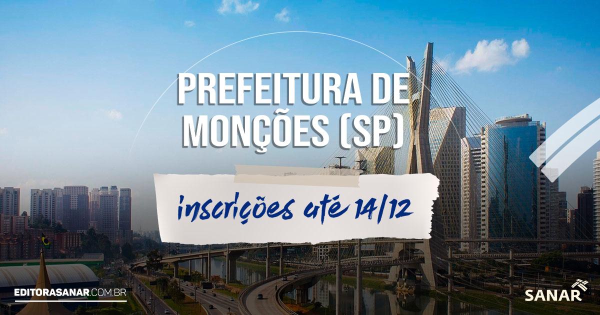 Prefeitura de Monções (SP): concurso oferta vaga para farmacêuticos