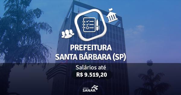Prefeitura de Santa Bárbara d'Oeste (SP) lança edital com vagas para Médicos