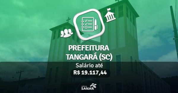 Prefeitura de Tangará (SC) publica edital com vagas para Médicos, Enfermeiros, Farmacêuticos e Dentistas