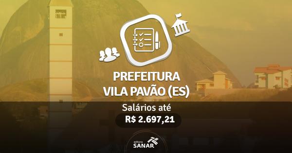 Prefeitura de Vila Pavão (ES) publica edital com vaga para Nutricionistas e Psicólogos