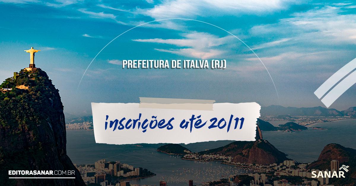 Prefeitura de Italva (RJ) abre concurso para profissionais da área de Saúde com 21 vagas e salários de até 7 mil