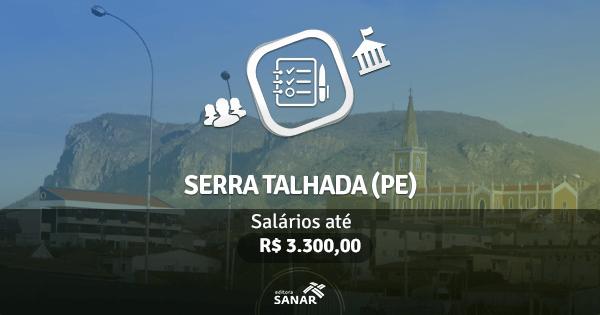 Prefeitura de Serra Talhada (PE): edital publicado com vagas para Enfermagem, Fisioterapia, Psicologia e mais