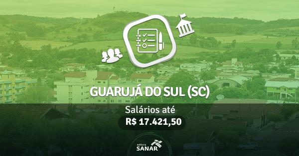 Prefeitura de Guarujá do Sul (SC): edital publicado com vagas para Enfermagem, Medicina e mais