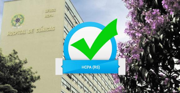 HCPA (RS) abre seleção para enfermeiros, farmacêuticos e nutricionistas