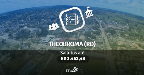 Concurso Prefeitura de Theobroma (RO) 2017: edital com vaga para Enfermagem