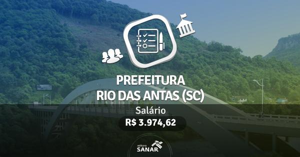 Processo Seletivo Prefeitura de Rio das Antas (SC): edital publicado com vagas para Enfermeiros e Dentistas