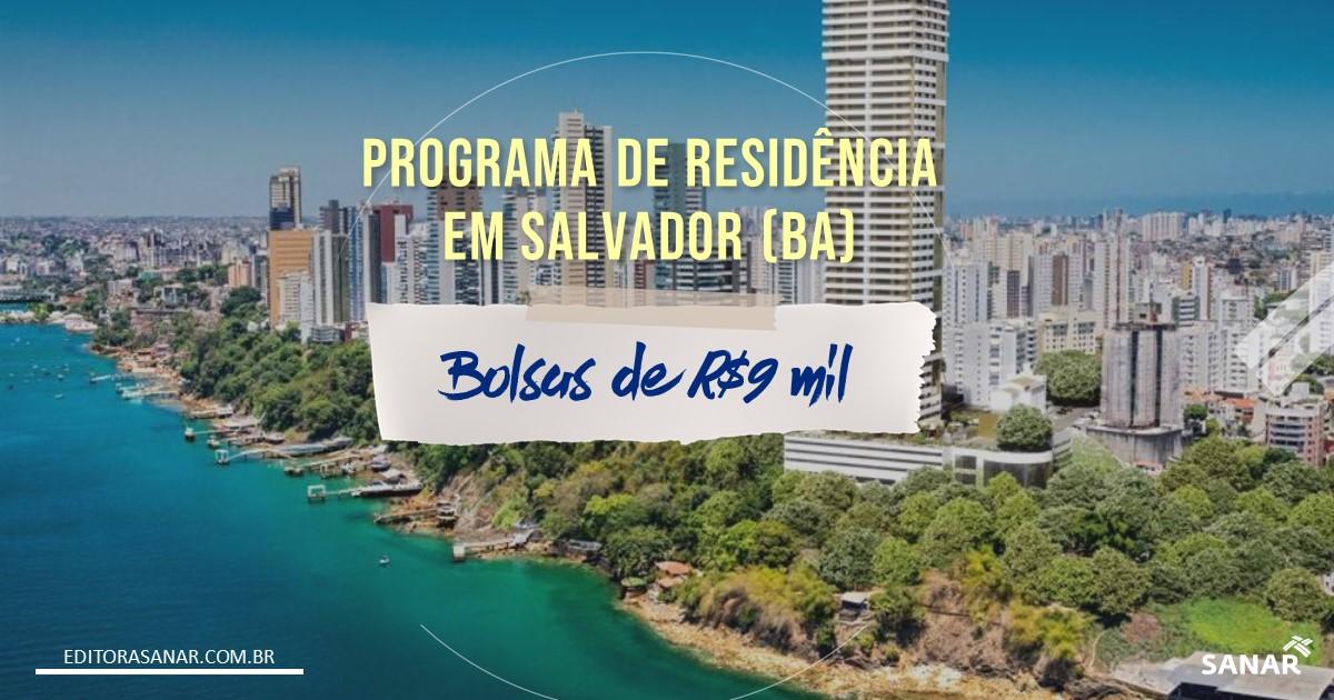 Prefeitura de Salvador cria programa de Residência em Saúde com bolsa de R$9 mil
