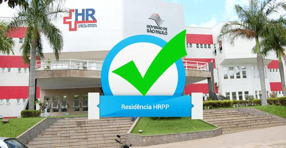 HRPP abre seleção para Programas de Residência Multiprofissional