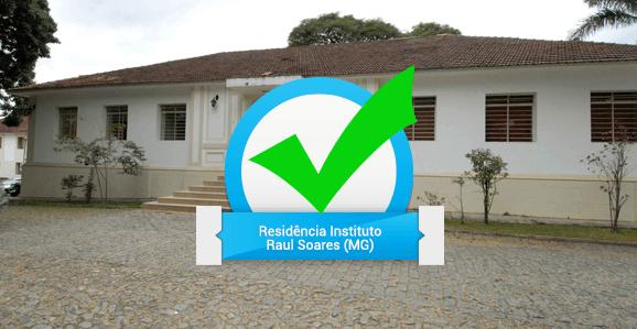 Instituto Raul Soares (MG) abre seleção para Programa de Residência Multiprofissional em Saúde Mental