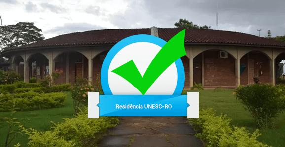 UNESC-RO abre seleção para Programas de Residência