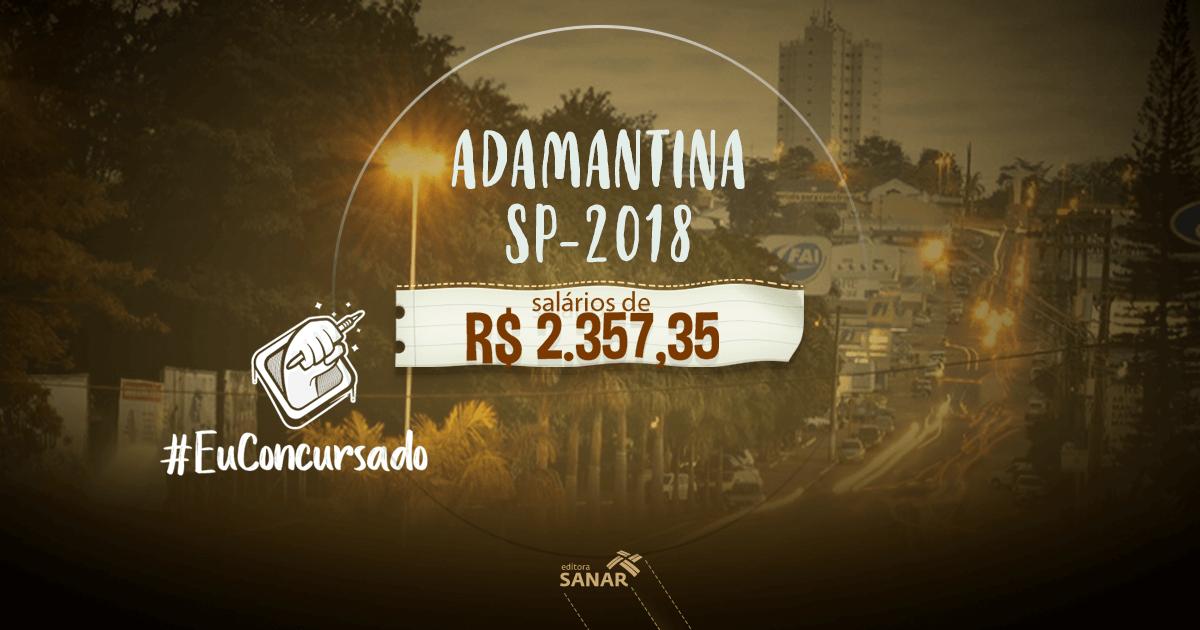 Prefeitura de Adamantina(SP): vagas para enfermeiros, nutricionistas, psicólogos e mais