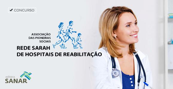 Rede SARAH seleciona médicos para cargo com salário de R$ 23 mil