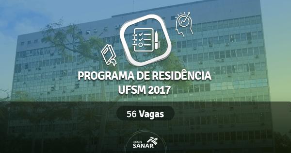 Residência Multiprofissional UFSM 2017: Edital traz vagas para Enfermagem, Nutrição, Psicologia e mais