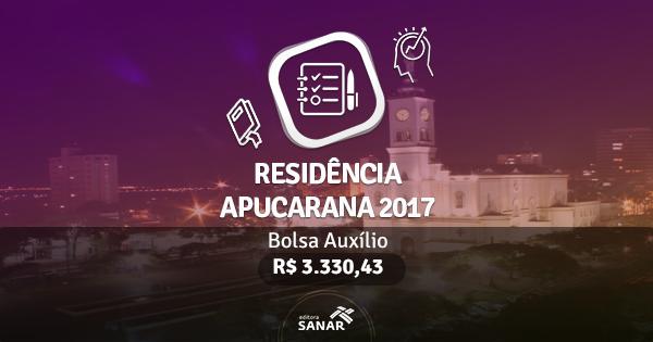 Residência Apucarana 2017: edital publicado com vagas para Enfermeiros, Nutricionistas, Psicólogos e mais
