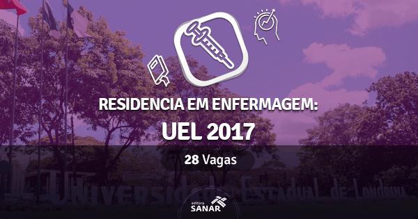 Universidade Estadual de Londrina abre concurso de Residência em Enfermagem para 2017