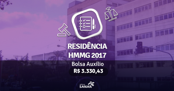 Residência HMMG 2017: publicado edital com vagas para Fisioterapeutas, Nutricionistas e Enfermeiros