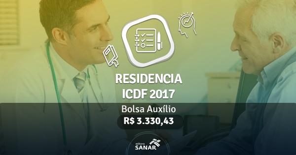 Residência ICDF 2017: edital publicado com vagas para Enfermeiros