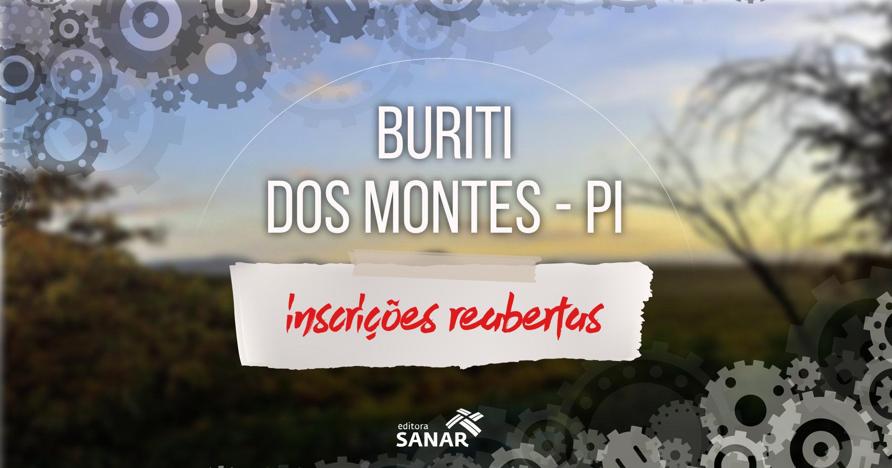 Concurso | 11 vagas em Buriti dos Montes, no Piauí
