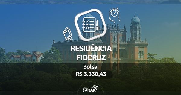 Residência Fiocruz 2017: edital traz vagas em Enfermagem, Nutrição, Farmácia, Psicologia e Odontologia