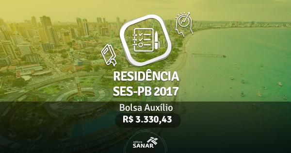 Residência SES-PB 2017: edital publicado com vagas para Enfermeiros, Nutricionistas, Farmacêuticos e Fisioterapeutas