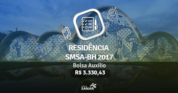 Residência SMSA-BH 2017: edital publicado com vagas para Enfermeiros, Psicólogos, Nutricionistas e mais