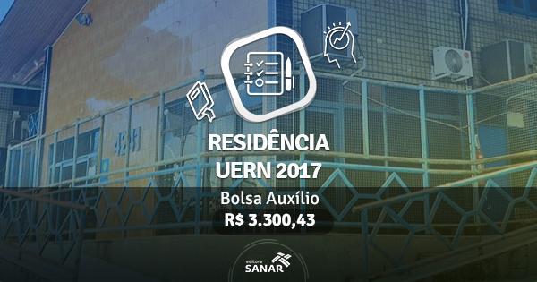 Residência UERN 2017: edital publicado tem vagas para Nutrição, Enfermagem, Psicologia e mais