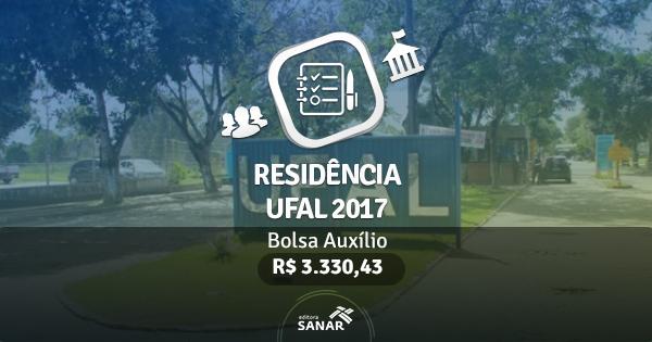 Residência UFAL 2017: edital publicado com vagas para Nutrição, Enfermagem, Psicologia e Farmácia