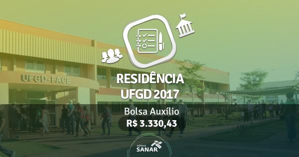Residência UFGD 2017: edital publicado com vagas para Nutricionistas, Psicólogos e Enfermeiros