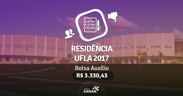 Residência UFLA 2017: edital publicado com vagas para Veterinários
