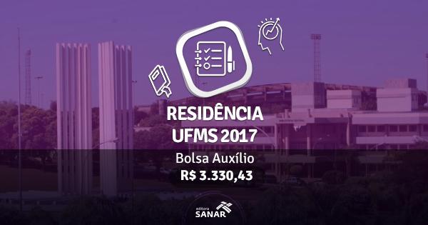 Residência UFMS 2017: publicado edital com vagas para Enfermeiros, Nutricionistas e mais