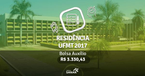Residência UFMT 2017: edital publicado com vagas para Enfermeiros, Farmacêuticos, Nutricionistas e Psicólogos