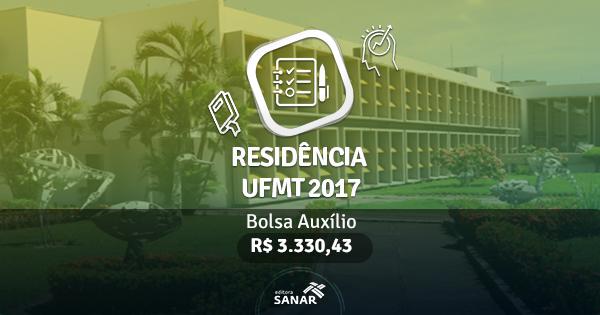 Residência UFMT 2017: edital publicado com vagas para Veterinários