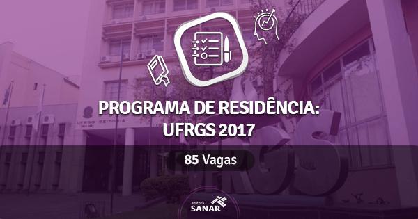 Universidade Federal do Rio Grande do Sul abre Programa de Residência Multiprofissional em Saúde