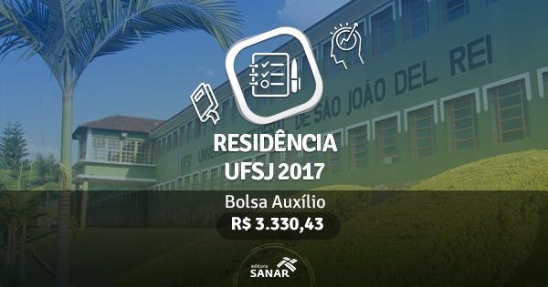 Residência UFSJ 2017: edital publicado com vagas para Enfermeiros, Psicólogos, Nutricionistas e mais